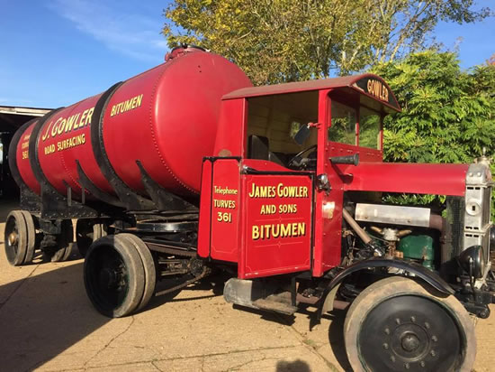 Dorset Heavy Horse Farm Park - Old Basil - 1929 Chain Driven Scammell