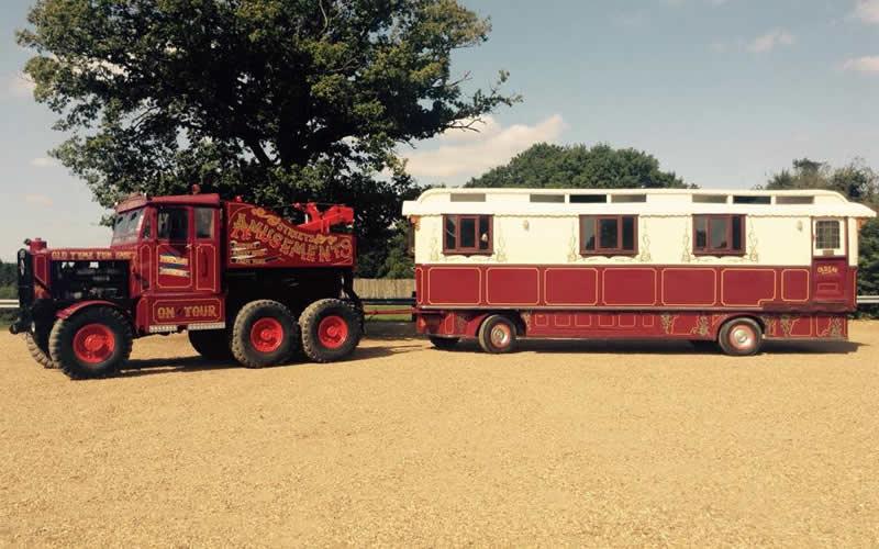 Dorset Heavy Horse Farm Park - 1927 Showman's Living Wagon
